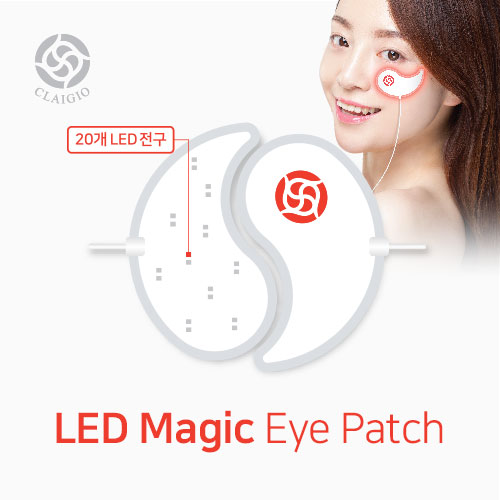 [Claigio] LED Magic Eye Patch 82g (Weight : 180g)