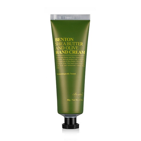 [Benton] Shea Butter And Olive Hand Cream 50g (Weight : 100g)