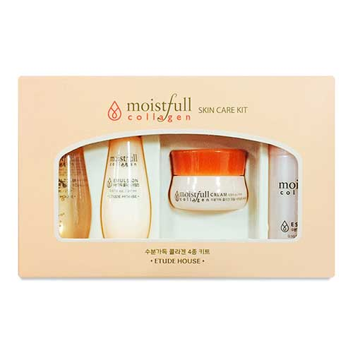 [Etude House] Moistfull Collagen Kit 4 Items (Sample) 65ml