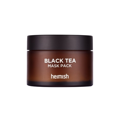 [Heimish] Black Tea Mask Pack 110ml (Weight : 170g)