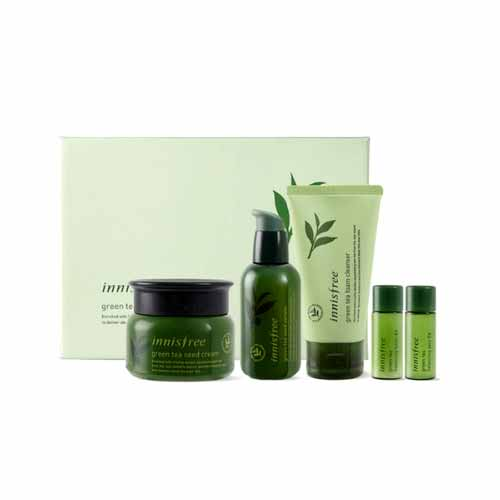 [Innisfree] Green Tea Seed Duo Set (Weight : 710g)