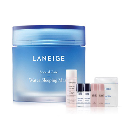 [Laneige] Water Sleeping Mask 70ml + Amore Pacific Small Kit (Weight : 300g + 125g)