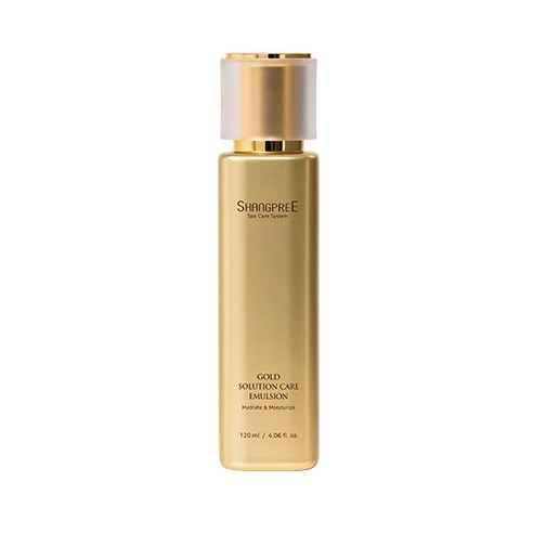 [Shangpree] Gold Solution Care Emulsion 120ml (Weight : 190g)