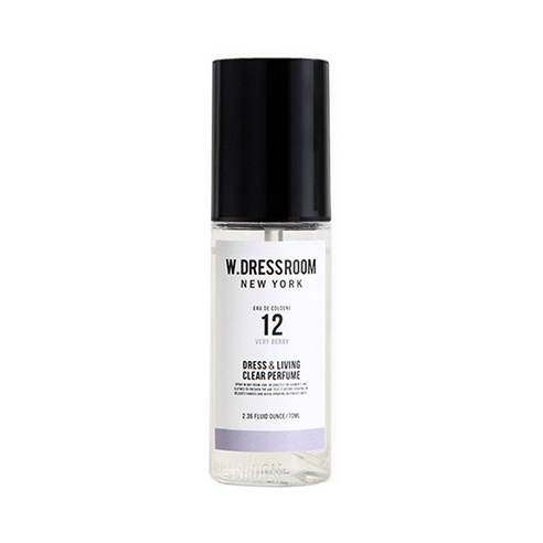 [W.Dressroom] Dress & Living Clear Perfume #12 Very Berry 70ml (Weight : 110g) | MYKOCO.COM