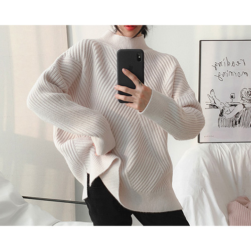 Ash Angora Mix Knit (4Color)