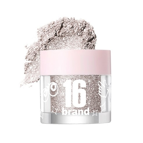 [16Brand] 16 Candy Rock Pearl Powder #01 Dia Candy 1.8g (Weight : 20g)