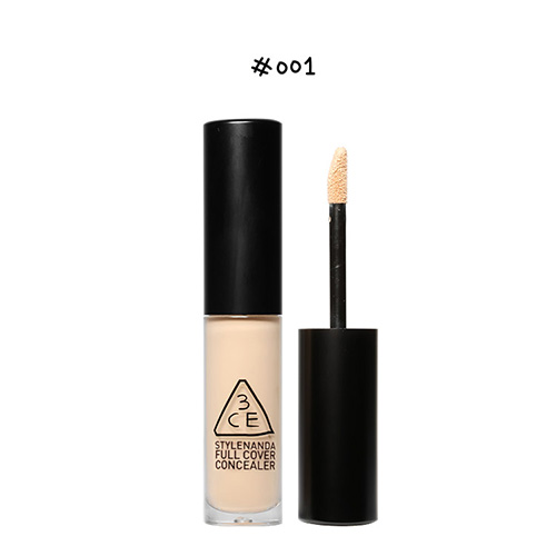 [E][3CE] Full Cover Concealer #001 5ml (Weight : 35g)