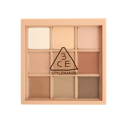 [E][3CE] Mood Recipe Multi Eye Color Palette #Smoother 8g (Weight : 38g)