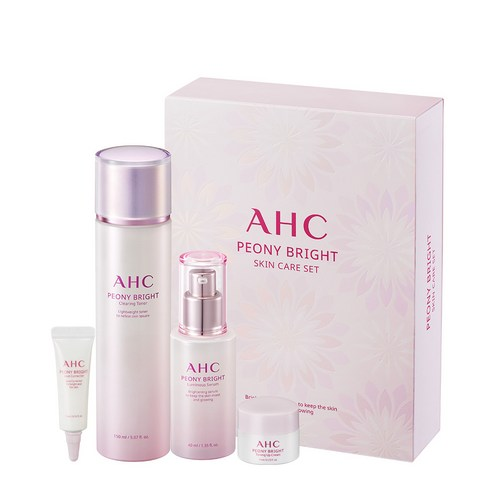 [A.H.C] Peony Bright Ckin Care SET (Weight : 900g)