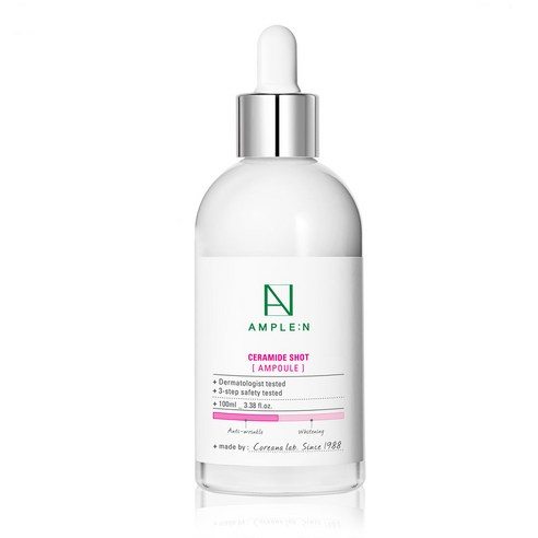 [Ample:N] Ceramide Shot Ampoule 100ml (Weight : 280g)