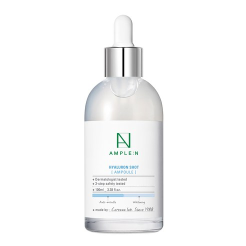 [Ample:N] Hyaluron Shot Ampoule 100ml (Weight : 280g)