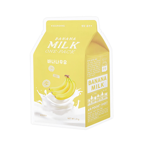 [A'Pieu] Milk One Pack #Banana 21g