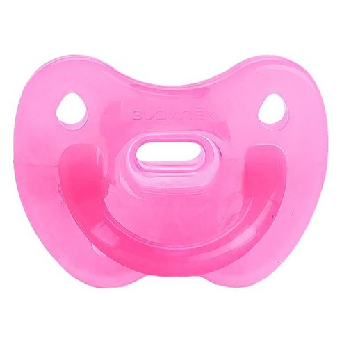 [Suavinex] Clouds Collection All Silicone Pacifier 0~6 Months #Cloud Pink 1p (Weight : 30g)