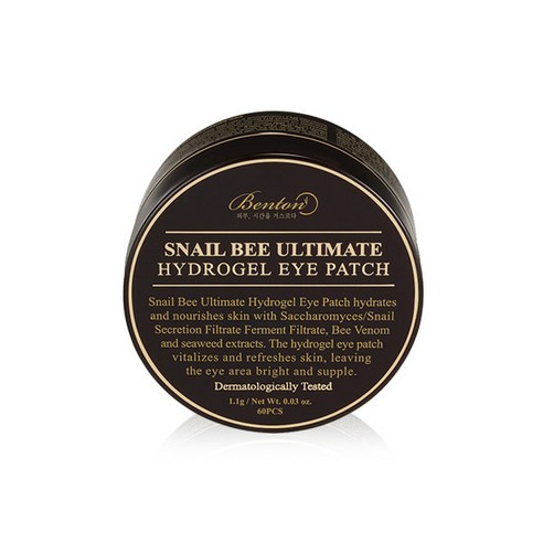 [Benton] Snail Bee Ultimate Hydrogel Eye Patch 1.1g*60ea (Weight : 250g)