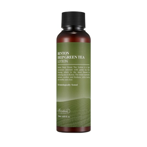 [Benton] Deep Green Tea Lotion 120ml (Weight : 250g)