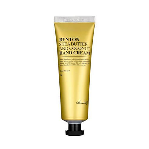[Benton] Shea Butter And Coconut Hand Cream 50g (Weight : 100g)