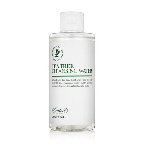 [Benton] Tea Tree Cleansing Water 200ml (Weight : 300g)