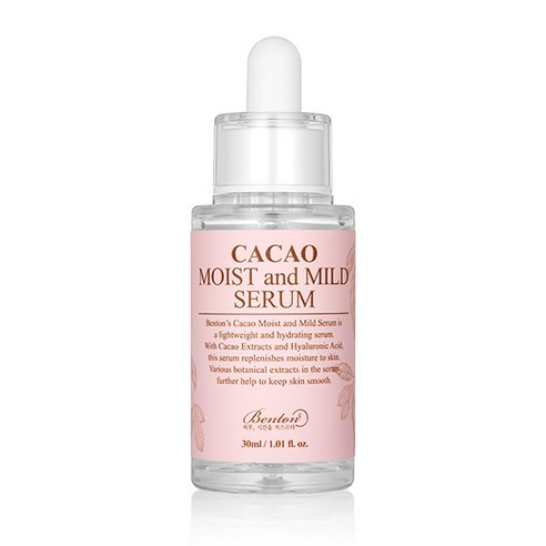 [Benton] Cacao Moist And Mild Serum 30ml (Weight : 80g)