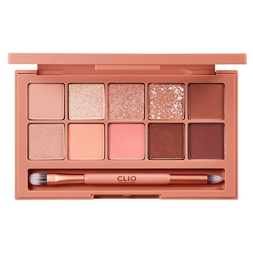 [Clio] Pro Eye Palette #03 Coral Talk 0.6g+10 (Weight : 280g)