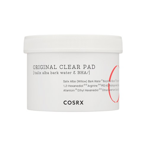 [Cosrx] One Step Original Clear Pad 70pcs/135ml (Weight : 220g)