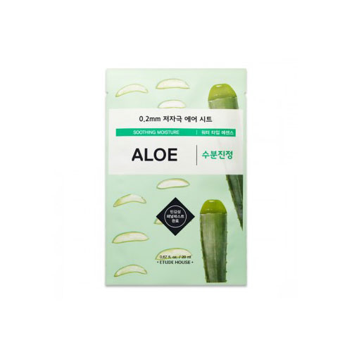 [Etude House] 0.2 Therapy Air Mask #Aloe 20ml
