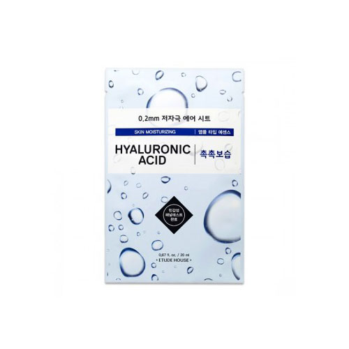 [Etude House] 0.2 Therapy Air Mask #Hyaluronic Acid 20ml