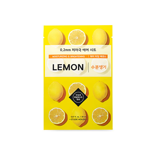 [Etude House] 0.2 Therapy Air Mask #Lemon 20ml