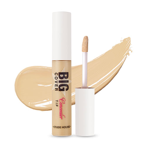 [Etude House] Big Cover Skin Fit Concealer Pro #Y04 Beige 7g