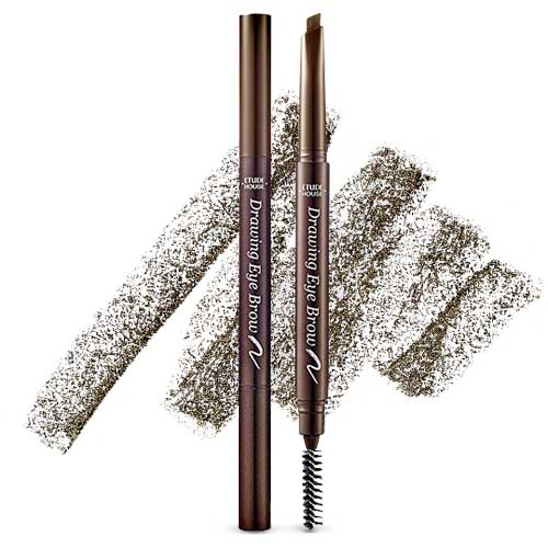 [Etude House] Drawing Eye Brow New #01 Dark Brown 0.25g