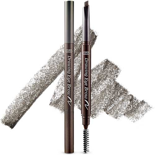 [Etude House] Drawing Eye Brow New #02 Gray Brown 0.25g