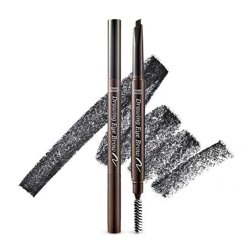 [Etude House] Drawing Eye Brow New #06 Black 0.25g