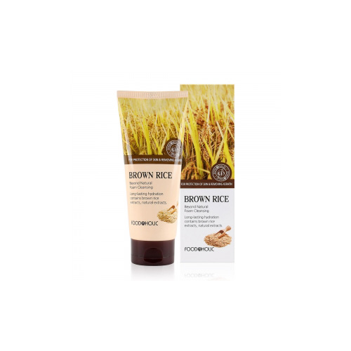 [E][Food A Holic] Beyond Natural Brown Rice Foam Cleansing 180ml (Weight : 210g)