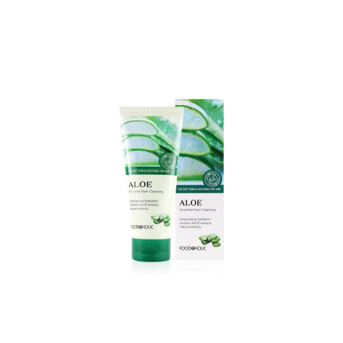 [E][Food A Holic] Smoothie Aloe Foam Cleansing 180ml (Weight : 210g)