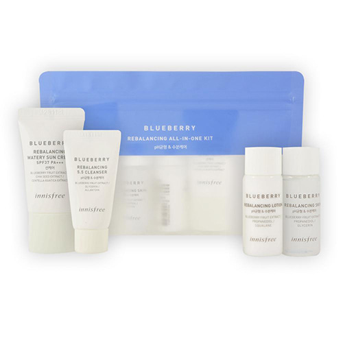 [Innisfree] Blueberry Rebalancing All In One Kit (Sample) 1ea (Weight : 108g)