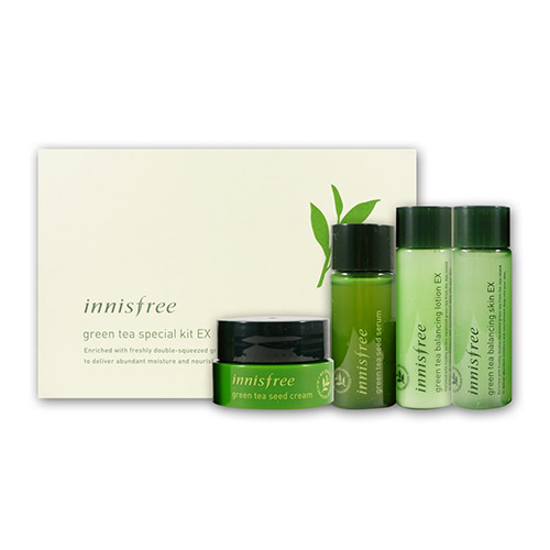 [Innisfree] Green Tea Special Kit EX (Sample) 1ea (Weight : 173g)