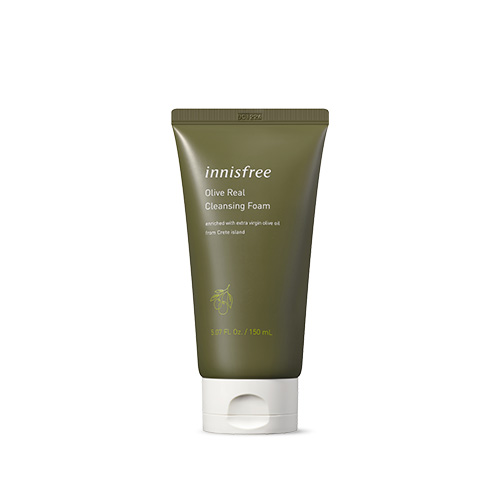[E][Innisfree] Olive Real Cleansing Foam 150ml (Weight : 180g)