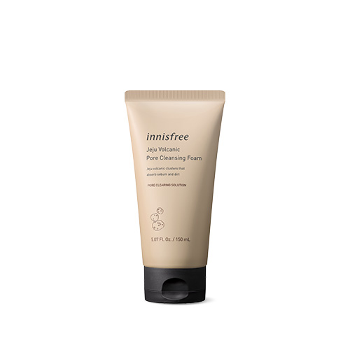 [E][Innisfree] Jeju Volcanic Pore Cleansing Foam 150ml (Weight : 180g)