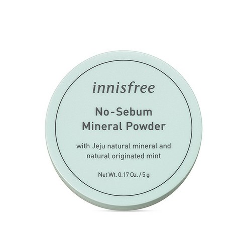 [Innisfree] No Sebum Mineral Powder 5g (Weight : 50g)