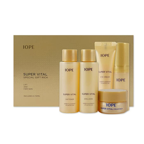[Iope] Super Vital Special Gift Rich 5 Itms (Sample) 1ea (Weight : 149g)