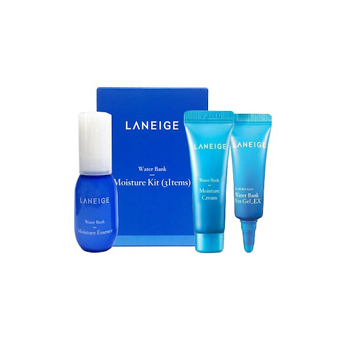 [Laneige] Water Bank Moisture Kit 3 Items (Sample) 23ml