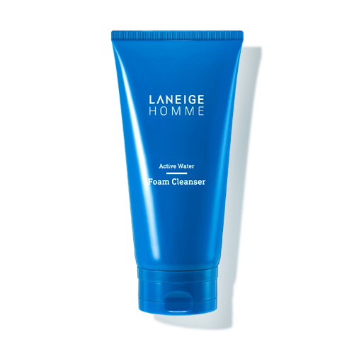 [E][Laneige] Active Water Foam Cleanser 150ml (Weight : 180g)