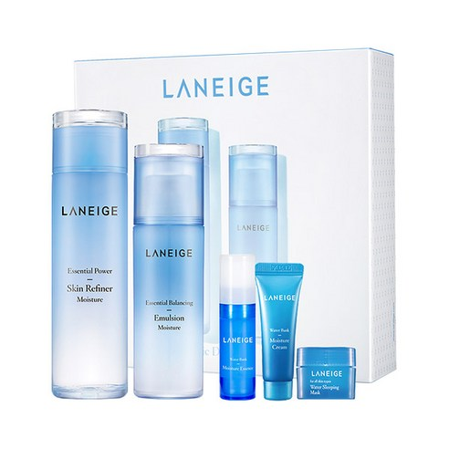 [Laneige] Basic Duo Set #Moisture 200ml+120ml+10ml+5ml+15ml (Weight : 850g)