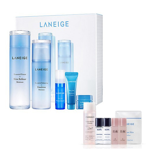 [Laneige] Basic Duo Set #Light 200ml+120ml+10ml+5ml+15ml + Amore Pacific Small Kit (Weight : 850g + 125g)