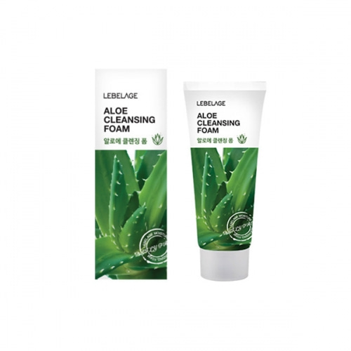 [E][Lebelage] Aloe Cleansing Foam 100ml (Weight : 130g)