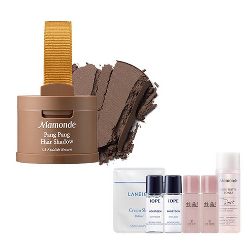 [Mamonde] Pang Pang Hair Shadow #03 Reddish Brown 3.5g + Amore Pacific Small Kit (Weight : 50g + 125g)