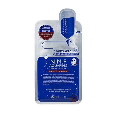 [Mediheal] N.M.F Aquaring Ampoule Mask EX 25ml*10ea (Weight : 400g)