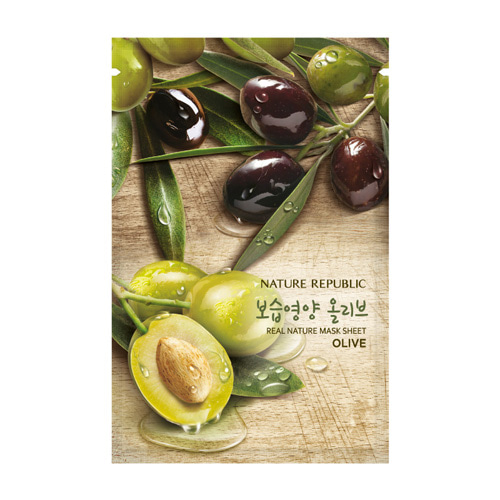 [Nature Republic] Real Nature Mask Sheet #Olive 23ml