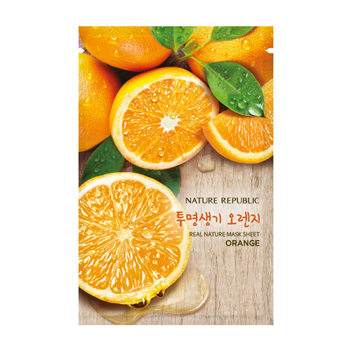 [Nature Republic] Real Nature Mask Sheet #Orange 23ml