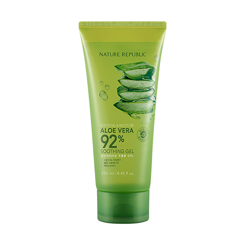 [Nature Republic] Soothing & Moisture Aloe Vera 92% Soothing Gel (Tube) 250ml