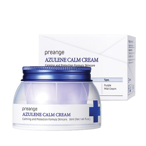 [Preange] Azulene Calm Cream 50ml (Weight : 130g)